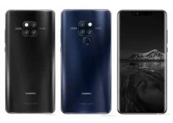 Já viram o Huawei Mate 20 em imagens de alta qualidade? image