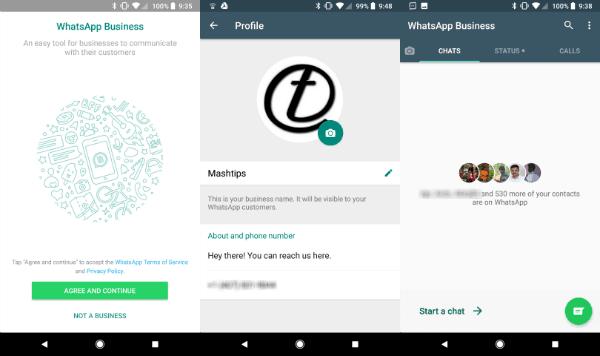 WhatsApp Business Setup