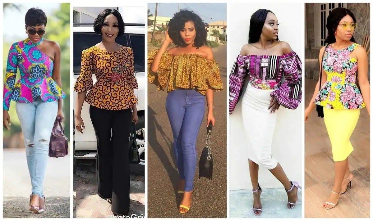 Ankara top styles for ladies in Nigeria