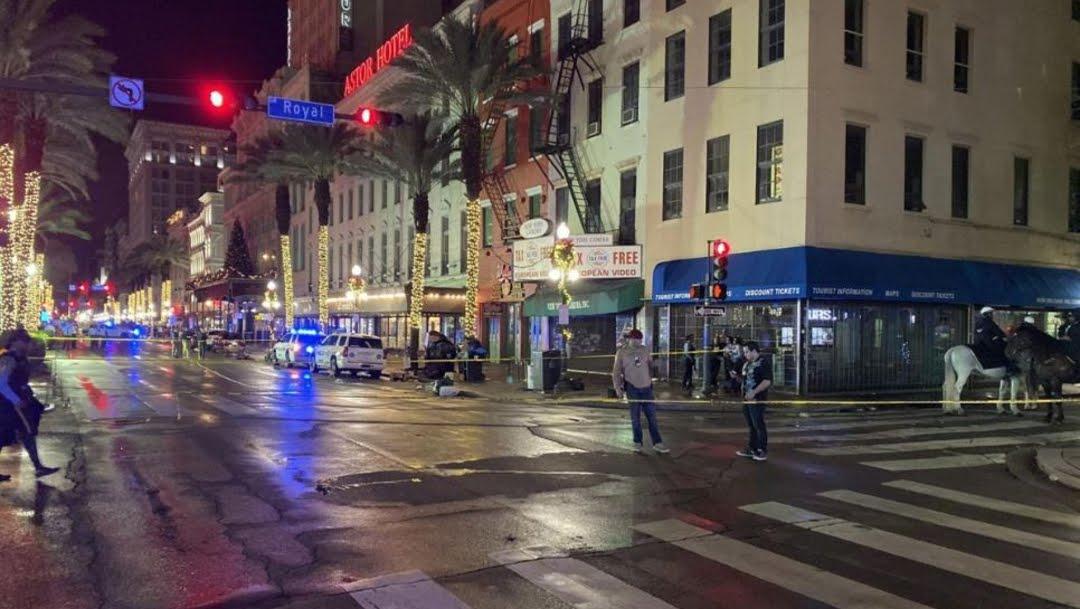 Foto: Diez personas resultaron lesionadas tras un tiroteo esta madrugada en un barrio de Nueva Orleans, 1 diciembre 2019