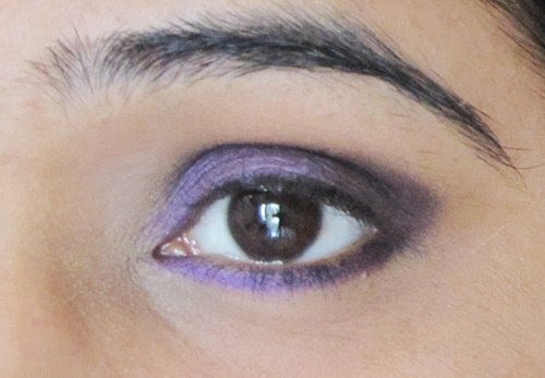 Smokey Purple Eye Makeup Tutorial 10