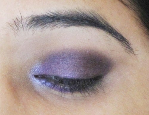 Smokey Purple Eye Makeup Tutorial 12