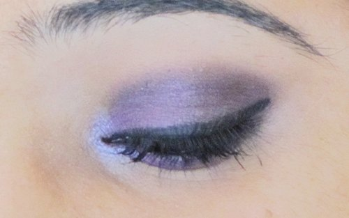 Smokey Purple Eye Makeup Tutorial 14